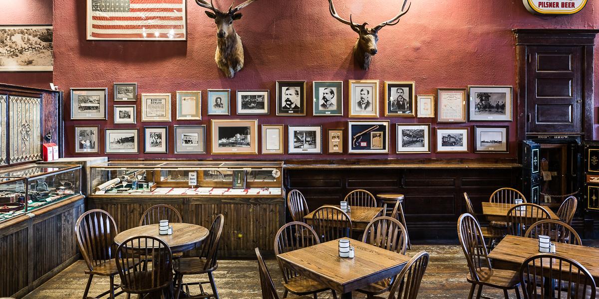 Interior Of The Palace Restaurant In Prescott Az Image