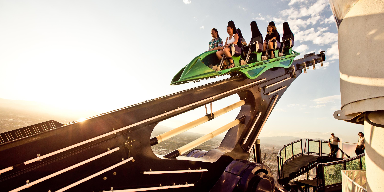 Experience Las Vegass Extreme Rides Via